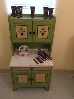 Mini Hoosier Cabinet in Bath