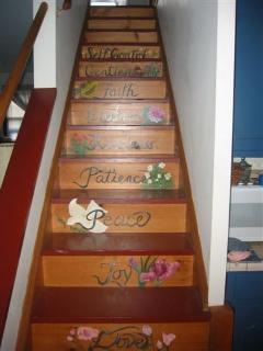 Stairs to 2nd level