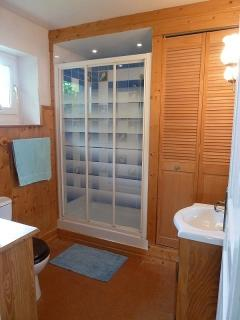 Shower room - Generous sized shower, WC, hand basin, separate WC with Hand basin also