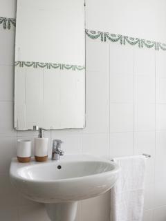 Sink designed by Álvaro Siza.
