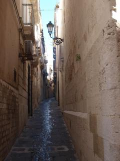 charming streets in Ortigia
