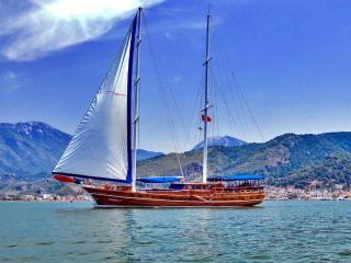 Full service chartered yacht, Lycian Coast
