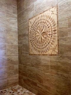Updated Roman walk in shower