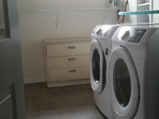 TWO FULL LAUNDRY ROOMS