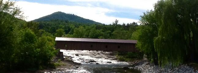 Town of Jay covered bridge