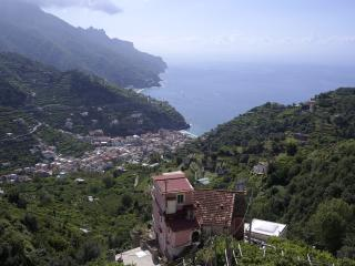 Breathtaking sea view on Amalfi Coast, Ravello.