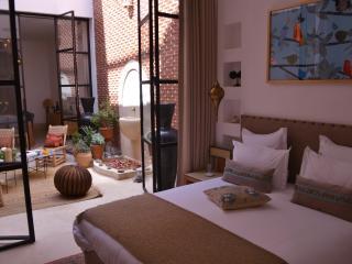 LA SOURCE DU DESERT Riad Chambre Rose des sables, Marrakech