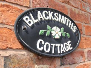 Home of the village Blacksmith until 1972AD