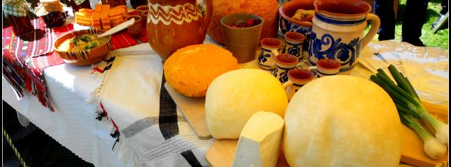 Try some tasty local Romanian foods