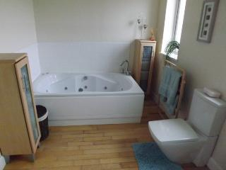 Jacuzzi bath, great for unwinding after a busy day