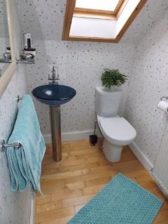 Upstairs shower room / bathroom