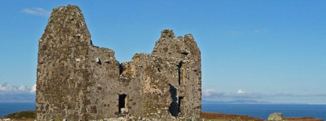 Waternish Point is a 4 mile walk, good for spotting whales & dolphins or visit the lighthouse