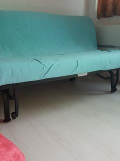 Ikea sofa bed. Folded