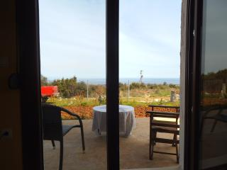 country house in olive grove with Olympus view