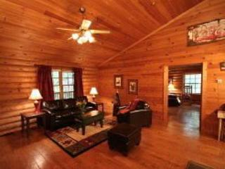Black Bear - Perfect Family Cabin! Sleeps up to eight with spacious living, dini