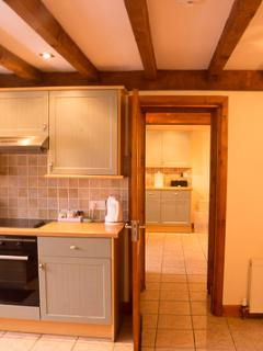 Interconnecting doors between Trough Cottage & Mount View, opened when booking both cottages