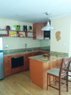 Kitchen at Ocean Front Montego Bay Club #508 #kitchen