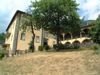 casa Gianfrati, LA PISCINA, Corfino