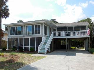 A Peace of Time - Down - Folly Beach, SC - 2 Beds BATHS: 1 Full
