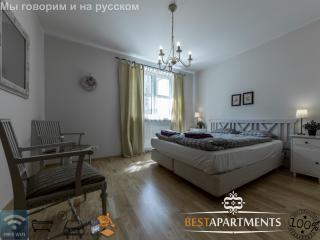 2 BDRM Tallinn apartment for 6 with bathtub & sauna