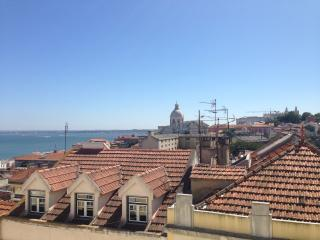 Panoramic Riverview Flat near old city centre, Lisbon