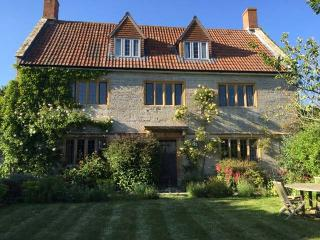 A classic somerset farmhouse overlooking meadows, Langport