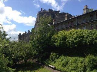 Castle Wynd South: Excellent view of Castle, Edinburgh