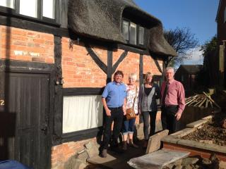 Owners of the Blacksmiths Cottage, Groby