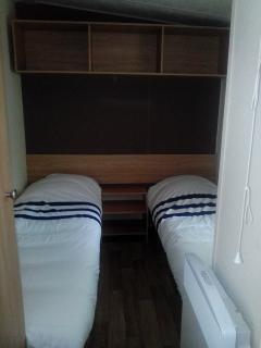 Chambre à 2 petits lits