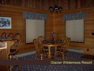 Cabin 4 - Glacier Wilderness Resort, West Glacier