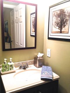 Twin suite bathroom