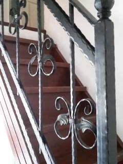 stairs up to the second floor