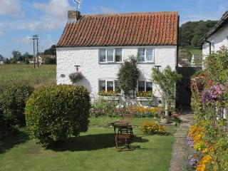Manor Cottage, pretty detached 1 bedroomed cottage quiet village location .