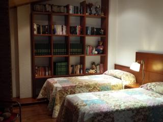 Habitacion habuhardillada 2 camas de 90 muy amplia