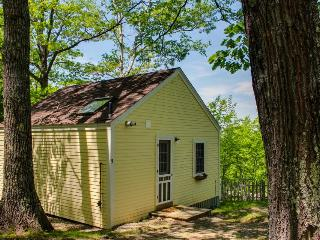 Cozy and bright dog-friendly cottage with woodland views, Edgecomb