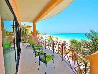 Oceanfront with pool 3 bedroom unobstructed views in Luna Encantada (LEC2), Playa del Carmen