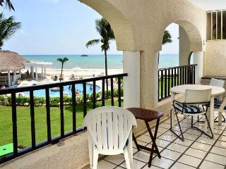 Feel at home in Mexico in this Comfortable OceanView Condo at Xaman Ha (7106)