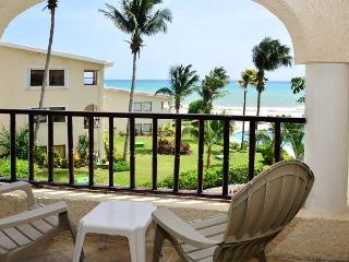 Oceanfront with pool 1 bedroom in Xaman Ha (7116)