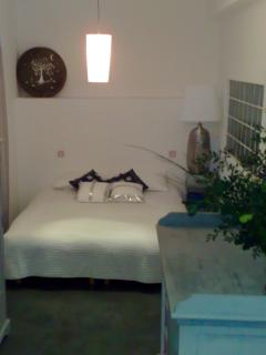 The second bedroom with a 160cm latex mastress