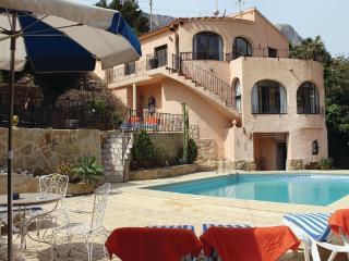Mediteranian villa with pool, Calpe