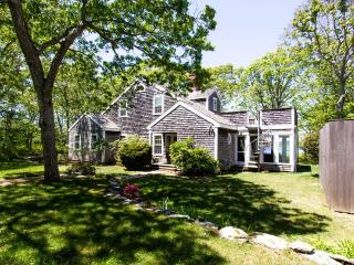 SANBG - Gorgeous Waterviews, set in private Mink Meadows Golf Course Community ,  Private Association Beach,   Walk or drive to the Golf Course Club House,, Vineyard Haven