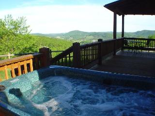 NOW BOOKING! A HEAVENLY VIEW-Mtn Views W/Hot Tub,  Gas F/P, Pets & WiFi!