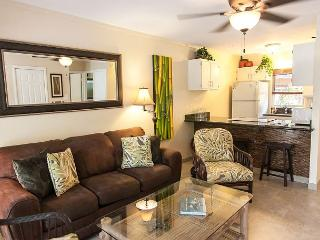 71-3 Secluded lanai is a great feature of this lovely one bedroom  in Puamana, Lahaina