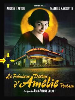 Apartment on Amelie Poulain,s movie