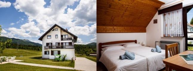 House under mountain Plješevica, surrounded with beautiful nature