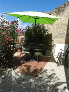 Terrace at Casa Rosa