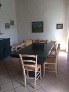 Camera da pranzo soggiorno