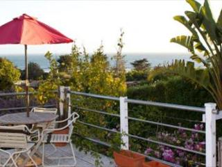 Sunset views from the deck of this bungalow on the Hill with Hot Tub!, Stinson Beach
