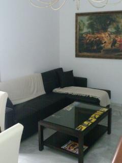 Amplio, confortable y nuevo sofá-cama
