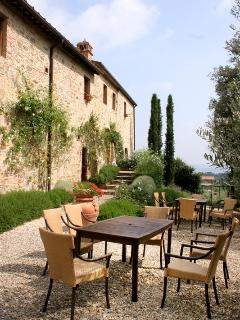Main Villa, where all the rooms are located. it was a former convent dating twelfth century